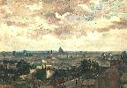 Vincent Van Gogh. View of the Roofs of Paris.