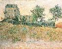 Vincent Van Gogh. The Restaurant de la Sirene at Asnieres.