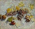 Vincent Van Gogh. Still Life with Apples, Pears, Lemons and Grapes.