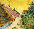Vincent Van Gogh. Street in Saintes-Maries.