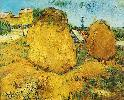 Vincent Van Gogh. Haystacks in Provence.