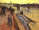 Vincent Van Gogh. The Bridge at Trinquetaille.