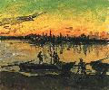 Vincent Van Gogh. Coal Barges.