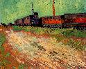 Vincent Van Gogh. Railway Carriages.