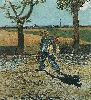 Vincent Van Gogh. The Painter on His Way to Work.