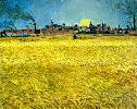 Vincent Van Gogh. Sunset: Wheat Fields Near Arles.