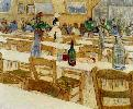 Vincent Van Gogh. Interior of the Restaurant Carrel in Arles.