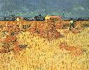Vincent Van Gogh. Harvest in Provence.