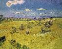 Vincent Van Gogh. Wheat Stacks with Reaper.