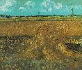 Vincent Van Gogh. Wheat Field with Sheaves.