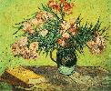 Vincent Van Gogh. Still Life: Vase with Oleanders and Books.