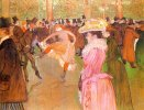 Henry de Toulouse-Lautrec. Training of the New Girls by Valentin at the Moulin Rouge