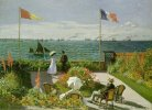 Claude Monet. Garden at Sainte-Adresse